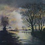Flood Plain -Diana Bernice Tackley