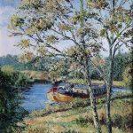 industrial and waterway paintings